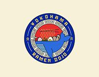Yokohama Ramen Badge Branding Design