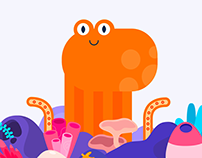 Google Doodle - World Octopus Day