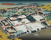 Map Design: THE FUJIKAWA SHRINE