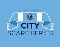 NYCFC City Scarf Series Logo
