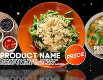 Restaurant Product Promo