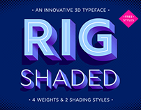 Award-Winning Font: Rig Shaded