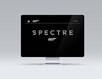 Proyecto diseño web película SPECTRE 007
