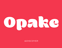 Opake™ Display Font