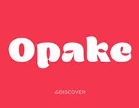 Opake™ Display Font