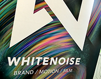 Whitenoise | #X-Particles #Pop-up #Banner