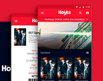 Android Hoyts Cinemas