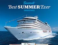 Ad for Sunset magazine