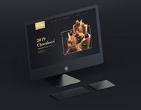 Chocolate website design UI/UX