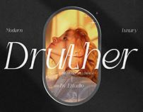 Modern Semi Italic - Druther Font