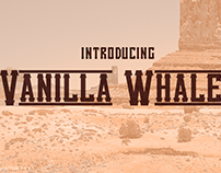 Free Font: Vanilla Whale