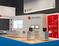AKANEA Booth design