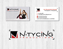 Ntycing Productions Logo & Business Card