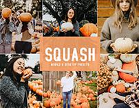 Free Squash Mobile & Desktop Lightroom Presets