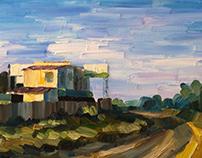 Painting. The Nizhny Novgorod Oblast