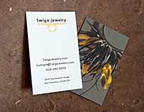 Twiga Jewelry — Business Cards