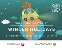 Winter Holiday for Banco Comafi