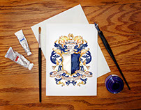 Coats of Arms Cards and Invitations