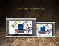 How to install adobe photoshop cc Free Video