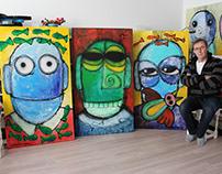 paintings & me