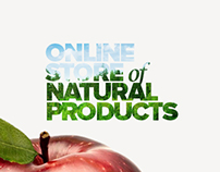 Online store of natural eco products.