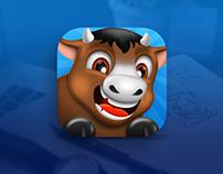 Cow app icon