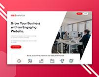 Creative UI UX Design - Agency Landing Page