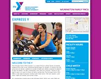 YMCA - Web Design