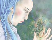 Fantasy Drawings #digitalillustration #fantasy