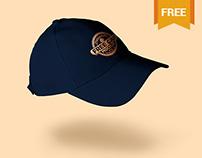 Amazing Free Baseball Cap mockup PSD