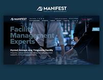 Corporate Website Design for Manifest