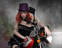 Cirque Fashion Design Project