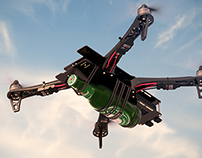 Flytrex Sky - Product renderings