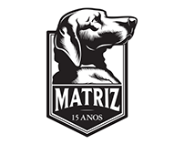 Matriz SkateShop // 15 Years Logo