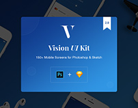 Vision Mobile UI Kit with Trial Version