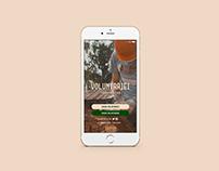 App Voluntariei - UI Design