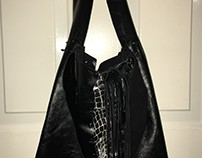 No Sew Leather Tote 2