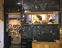 Chalk art para o Inverno 2017 da Casa Perky