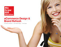 McGraw-Hill eCommerce Redesign