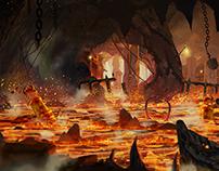Magic The Gathering, Card Illustration   Urza's Mine