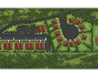 Masterplan rendering