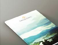 Logo Design & Catalogue Design - Casa De Monte, Goa, IN