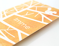 Birth card for Imme