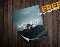 Poster – 2 Free PSD Mockups