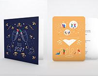 Collab' carterie Planet Cards - Voeux année 2021
