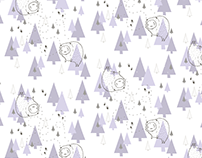Forest Yeti Pattern Collection