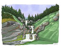 Scotland falls
