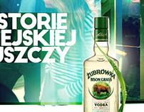 Żubrówka Vodka adv KV
