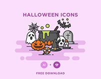 FREE - HALLOWEEN ICONS