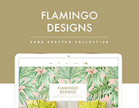 Flamingo Designs Template